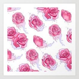 All is Full of Roses Art Print