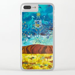 The Great Southland Clear iPhone Case