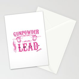 Gunpowder and Lead Graphic T-shirt Stationery Cards