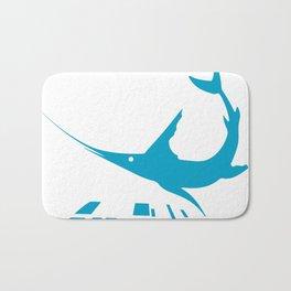 Blue marlin Bath Mat