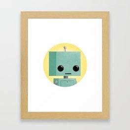 Ronnie the Robot Framed Art Print