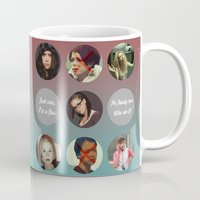orphan black Mugs featuring Orphan Black, Family by Your Friend Elle