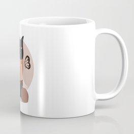 Gato y mariposa Coffee Mug