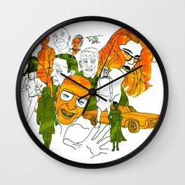 Sabotage Wall Clock