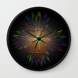 Light and energy - sunset Wall Clock