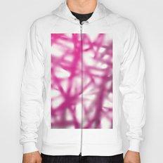 pink blur background Hoody
