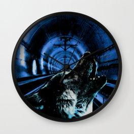 Howling Wall Clock