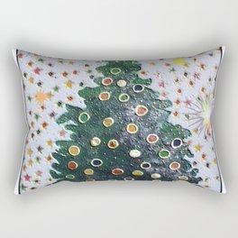 Christmas D3 - Stars & Tree Rectangular Pillow