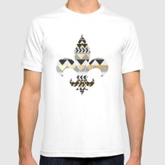 The Royal Treatment Mens Fitted Tee White MEDIUM