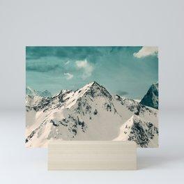Snow Peak Mini Art Print