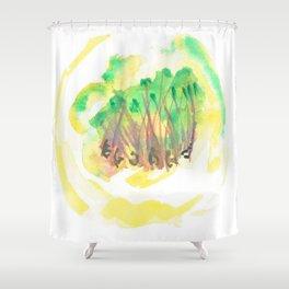 Intention Shower Curtain