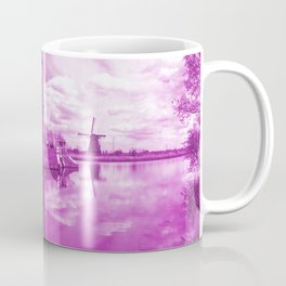 Pink Windpump Coffee Mug