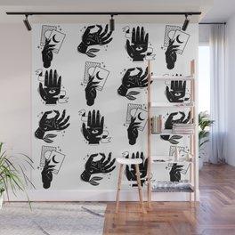 magic hands pattern Wall Mural