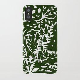 Erik of the Woods iPhone Case