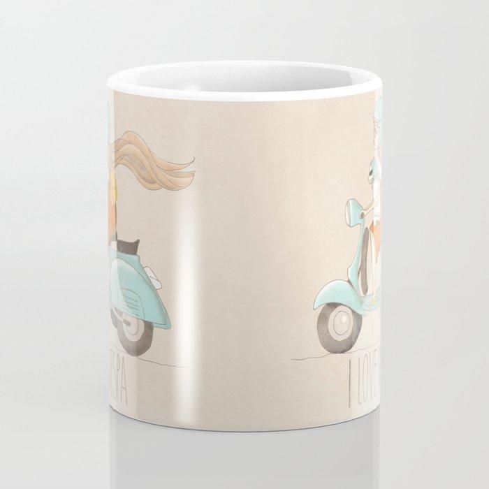 I love Vespa Coffee Mug