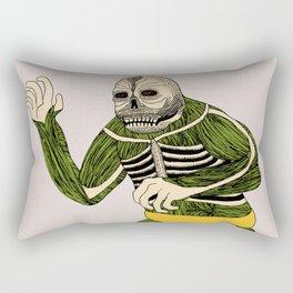The Original Glowing Skull Rectangular Pillow