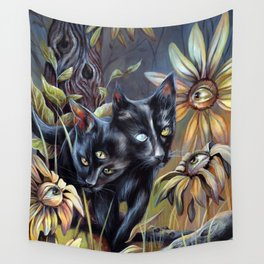 Siamese Twins Wall Tapestry