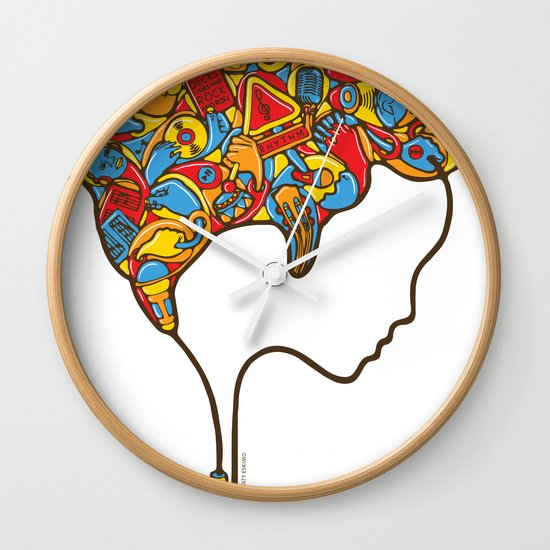 Musical Mind Wall Clock