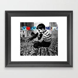 All the Sadness of Life Framed Art Print