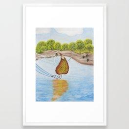 Harness the Wind Framed Art Print