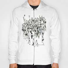 Shibuya Street Crossing Crowd Hoody