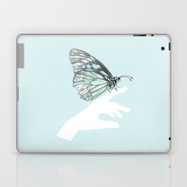 a friend in my hand 3 Laptop & iPad Skin