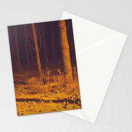 Orange forest Stationery Cards