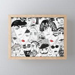 People are people Framed Mini Art Print