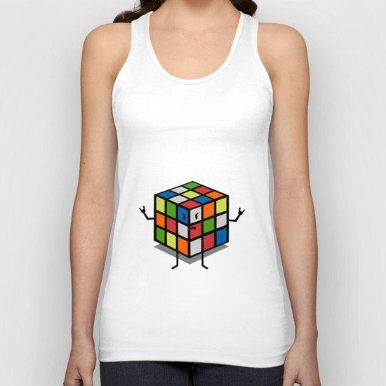 Rebel Rubik Unisex Tank Top
