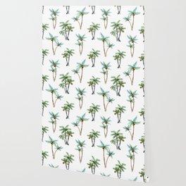 Palm Tree Pattern 01 Wallpaper
