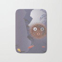 The Blowfish Bath Mat