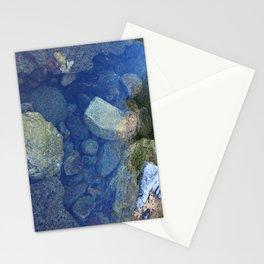 Rocks Under Water I Stationery Cards