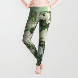 Vincent van Gogh - Roses Leggings