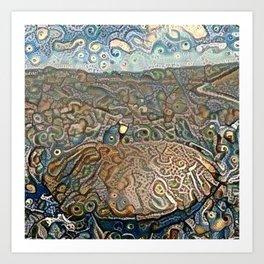 Find the Alaskan Bolete Art Print
