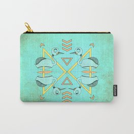 Aztec swan Carry-All Pouch