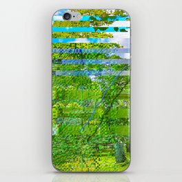 Landscape of My Heart (segment 1) iPhone Skin