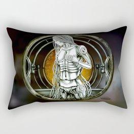 """""""Astrological Mechanism - Virgo"""" Rectangular Pillow"""