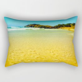 sandy days Rectangular Pillow