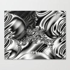 Black Lace Canvas Print