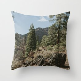 Flagstaff, AZ Throw Pillow