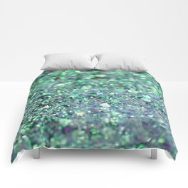 Underwater Mermaid Glitter #1 #shiny #decor #art #society6 Comforters
