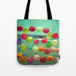 balloons in Istanbul Tote Bag