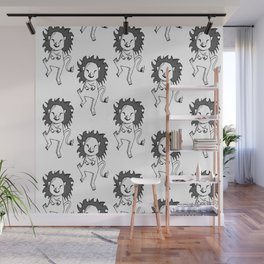 Oppa Gangnam Style Lion Wall Mural