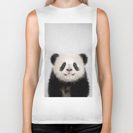 Panda Bear - Colorful Biker Tank
