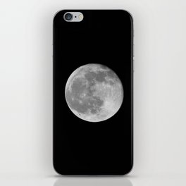 Full Moon iPhone Skin