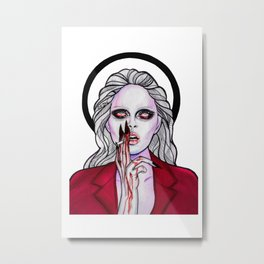 Dark Andreja Metal Print