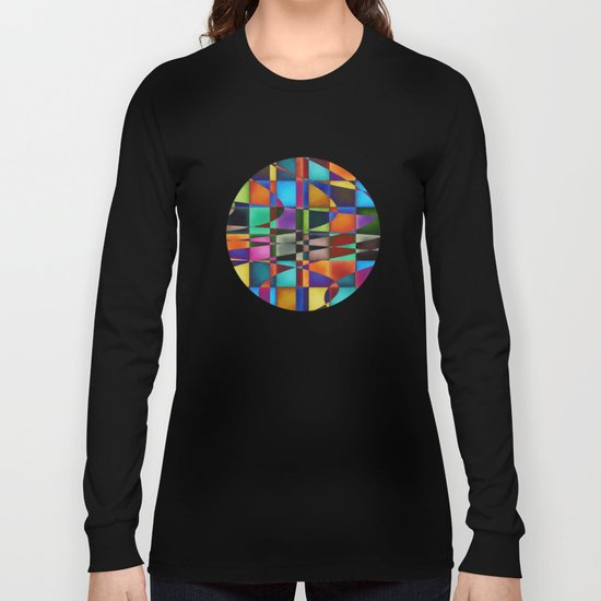 Op-Art Pattern 2 Long Sleeve T-shirt