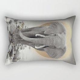 Strength & Courage Rectangular Pillow