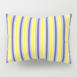Complementary Series: 1. Purple and Yellow Gradient Pillow Sham