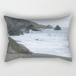 Beach Rocks Rectangular Pillow